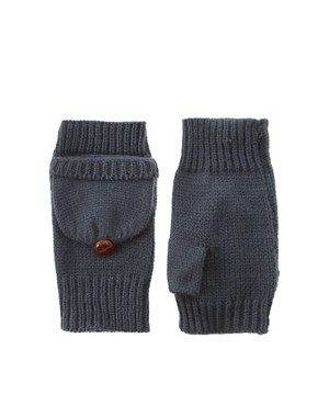 Image 1 ofASOS Basic Converter Gloves