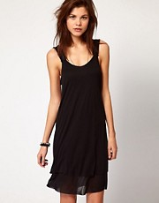 Diesel Mini Dress With Zip Straps