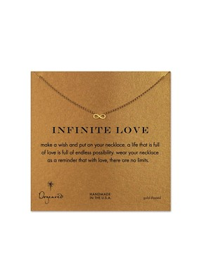 Image 1 ofDogeared Infinity Love Necklace
