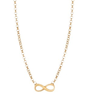 Image 2 ofDogeared Infinity Love Necklace
