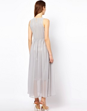 Image 2 ofThe Style Maxi Dress With Pearl Embellishment