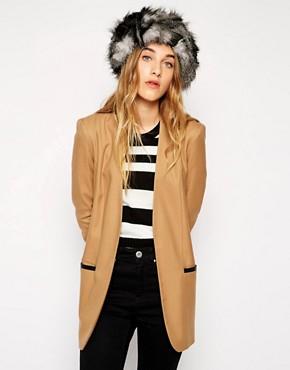 Liquorish Faux Fur Animal Headband