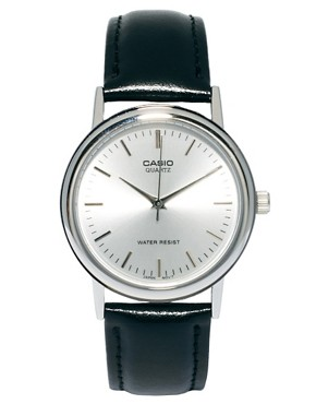 Image 1 ofCasio Watch MTP-1261E-7AEF Leather Strap