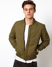 Bellfield Quilted Bomber