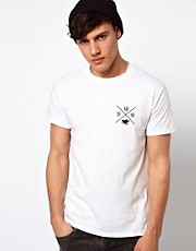 River Island T-Shirt with LA Back Print