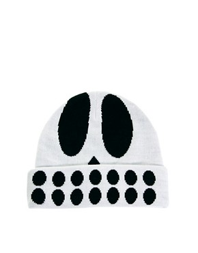 Image 4 ofLazy Oaf Skull Beanie Hat