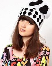 Lazy Oaf Skull Beanie Hat