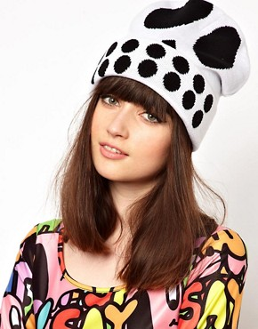 Image 1 ofLazy Oaf Skull Beanie Hat