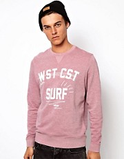 ASOS Sweatshirt With Coast Print