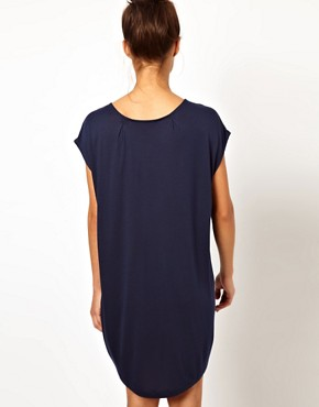 Image 2 ofWH100 by Won Hundred Hinda Cacoon Jersey Tunic Dress