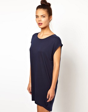 Image 1 ofWH100 by Won Hundred Hinda Cacoon Jersey Tunic Dress