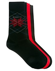 Boss Black 3 Pack Socks