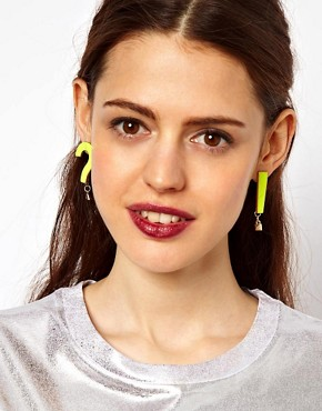 Image 2 ofASOS Exclamation Earrings
