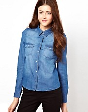 Vero Moda Denim Western Shirt