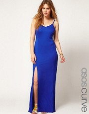 ASOS CURVE Maxi Dress With Thigh Split
