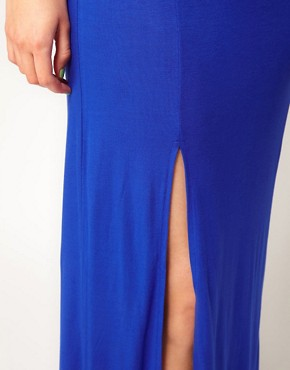 Image 3 ofASOS CURVE Maxi Dress With Thigh Split