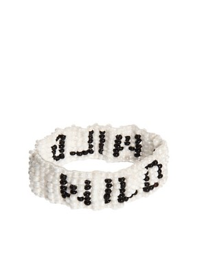 Image 2 ofASOS Wild Seedbead Stretch Bracelet
