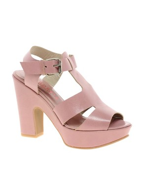 Image 1 ofGardenia Platform Strapped Sandals
