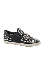 Ash Soul Studded Slip On Trainers
