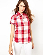 Wrangler Checked Short Sleeved Shirt