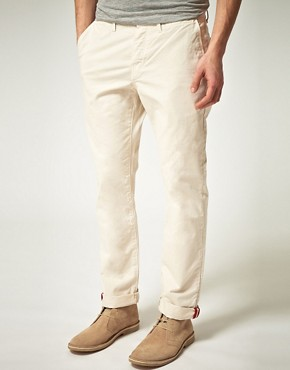 Image 1 ofPlectrum by Ben Sherman Slim Chinos