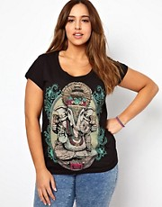 New Look Inspire Foil Print Tee
