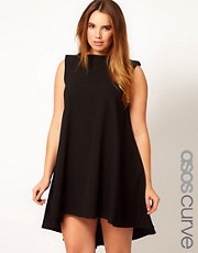 ASOS CURVE - Vestito scampanato