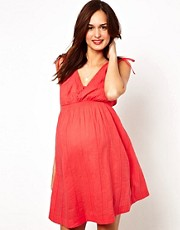 New Look Maternity Waist Detail Dress
