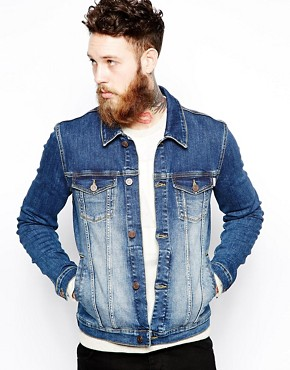 ASOS Denim Jacket In Skinny Fit