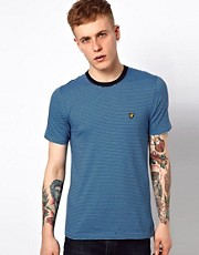 Lyle &amp; Scott Vintage T-Shirt with Fine Stripe
