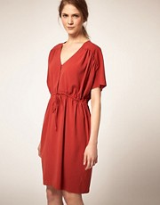 Minimarket Solveig Dress With Waist Tie