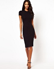 ASOS T Cut Out Midi Dress