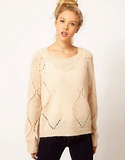 River Island Pointelle Jumper