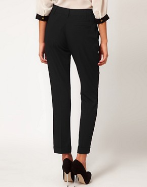 Image 2 of ASOS Trousers With Jet Pocket