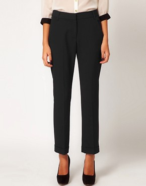 Image 4 of ASOS Trousers With Jet Pocket
