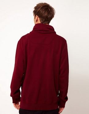 Image 2 ofDiesel Snotra Funnel Neck Hoodie