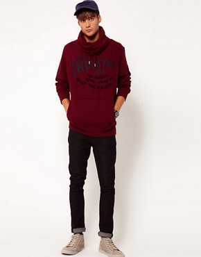 Image 4 ofDiesel Snotra Funnel Neck Hoodie