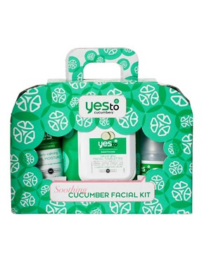 Image 2 ofYes To Cucumbers Facial Kit