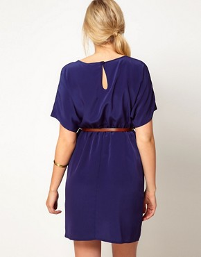 Image 2 ofASOS Maternity Exclusive Woven Dress With Belt