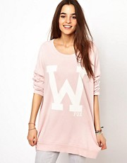 Wildfox College Fox Jumper