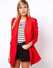 ASOS Textured Blazer Coat