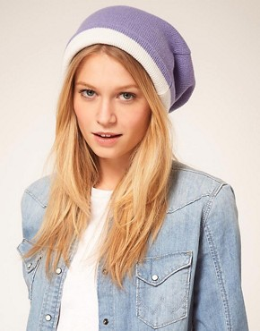 Image 1 ofASOS Reversible Boyfriend Beanie
