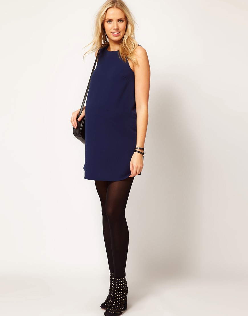Image 4 of ASOS Maternity Shift Dress