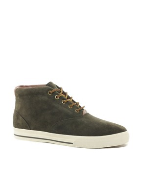 Image 1 ofPolo Ralph Lauren Zale Suede Chukka Boots