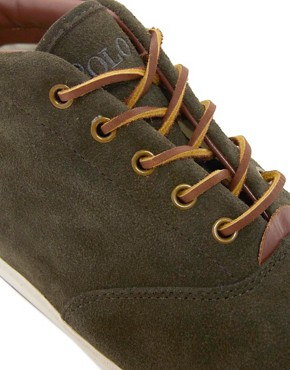 Image 2 ofPolo Ralph Lauren Zale Suede Chukka Boots