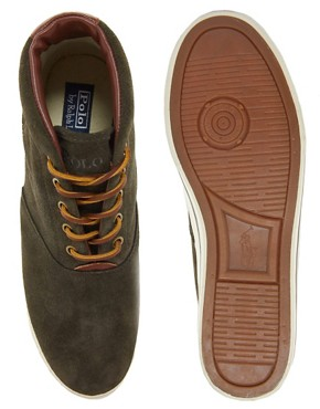 Image 3 ofPolo Ralph Lauren Zale Suede Chukka Boots