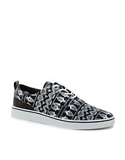 Bellfield Paisley Plimsolls