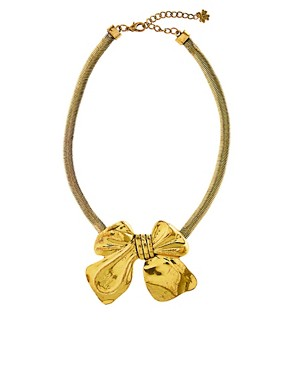 Image 2 ofLove Rocks Bow Necklace