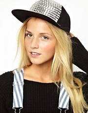 ASOS Studded Front Cap