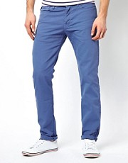 Vaqueros tapered en denim teido de Paul Smith Jeans